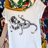 RolledUp-Sleeves mit schwarzer Krake