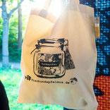 fisch&apfelmus Tasche aus recycelter Baumwolle