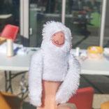 Les Ateliers de Blanche Ateliers couture activité enfant la Balme de Sillingy Annecy 74 diy fait main yéti marionnette de doigt loisirs créatifs diy