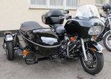 112: RoadGlide mit Lak-Boot