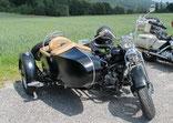 128: Panhead Bj 1954 mit HD-Boot