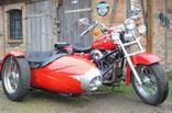 026: Sportster 1100 mit Duna Boot
