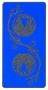 Tarot Art Nouveau de Myers - Dos