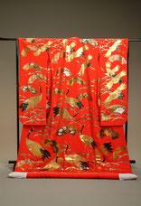美濃加茂・可児・関で、和装のレンタルなら丸章・秋山章の本手描き友禅がある「ブライダルサカエ」