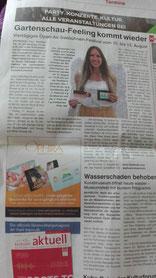 Bayreuther Sonntagszeitung vom 06.08.2017