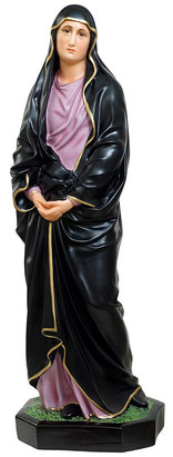 Our Lady of Sorrows statue cm. 85