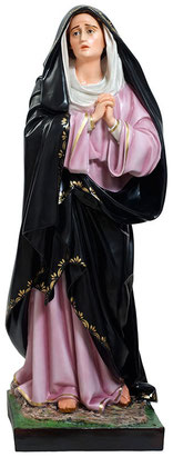 Our Lady of Sorrows statue cm. 107