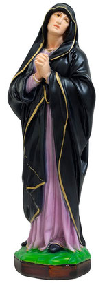 Our Lady of Sorrows statue cm. 40