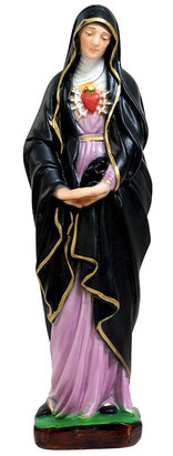 Our Lady of Sorrows statue cm. 30