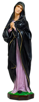 Our Lady of Sorrows statue cm. 63