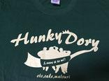 ハンキードーリーダンススタジオオリジナルTシャツGREEN×OFF-WHITE
