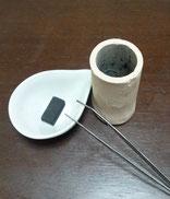 陶器灸で身体を温めよう!