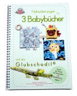 Nähbuch für Babys, Nähanleitung, Applikationen, Stoffbuch, Quiet book