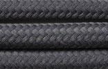 Textilkabel 3x0,75 Schiefer dunkelgrau