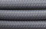 Textilkabel 3x0,75 taubengrau