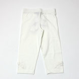 裾リボン付きレギンス
