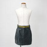 ドットプリントタイトスカート