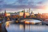 Moscou. Le Kremlin et la Moskova