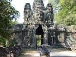 South Gate, Angkor Thom, Siem Reap, Cambodia