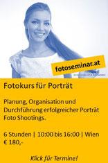 Fotokurs Porträt