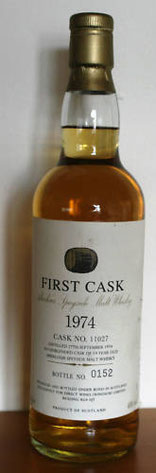 First Cask 1974, 46 % vol alc