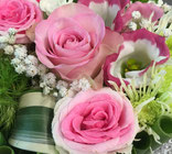 bouquet de fleurs, bouquet de rose, rose