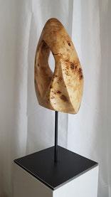 holzskulptur, abstrakt, gunnar mozer