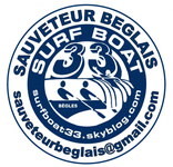 logo surfboat begles