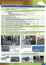 Agro-Widmer Stalleinrichtungen - Fang- und Behandlungsstand Pasdelou
