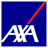 Logo von Axa, unserem Partner für Versicherungen und Finanzdienstleistungen