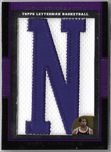 TOPPS LETTERMAN PATCH - No. LP-MJ  (#d 3/9)