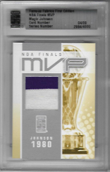 FAMOUS FABRICS - NBA Finals MVP  (#d 4/9)