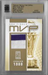 FAMOUS FABRICS - NBA Finals MVP  (#d 1/1)