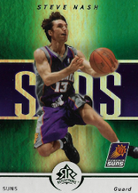 STEVE NASH / Green Version - No. 77  (#d 1/25)