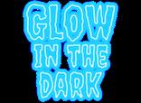 Risse, Äste und Inividualisierungen mit nachtleuchtendem Spezialharz ausgefüllt - Licht aus und back to the 90´s!