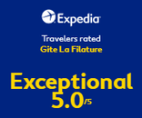 Note Expedia Gite La Filature