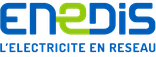 Logo du site web enedis