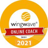 wingwave Online CoachQualitätssiegel 2021  Mag. Gerlinde Haindl