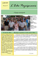 echo payrignacois N°01 juillet 2008