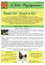 echo payrignacois N°15 juin 2013