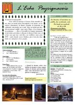 echo payrignacois N°05 janvier 2010
