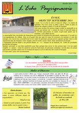echo payrignacois N°16 octobre 2013