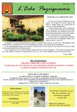 echo payrignacois N°09 mai 2011