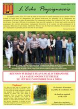 echo payrignacois N°19 octobre 2014