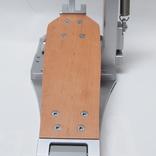 Die Trittplatte beim Schossleitner Drum Pedal, eine Fußmaschine für Profis.