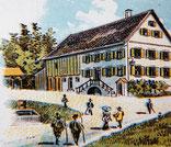 Unser Hof um 1900