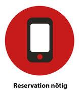 Reservation nötig
