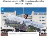 """Le Parisien 92 édition web du 5 avril 2016 """"1ère exposition lgDAMSphoto : Le monde animalier"""""""