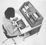 Perforatrice-vérificatrice IBM