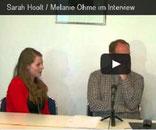 Videointerview mit DeepChess 2013, Melanie Lubbe, Sarah Papp